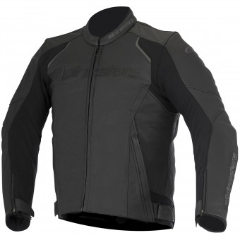 Blouson Moto Alpinestars Devon Leather Black