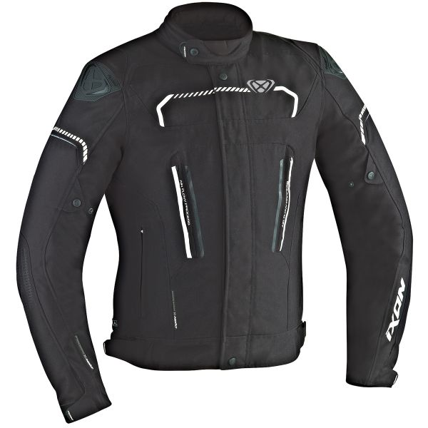Blouson Moto Ixon Exhale HP Black White