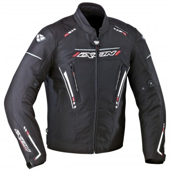 Blouson Moto Ixon Exodus Black White Red
