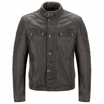 Blouson Moto Belstaff Glen Vine Brunished Brown