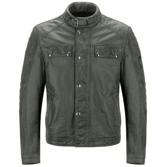 Blouson Moto Belstaff Glen Vine Brunished Green