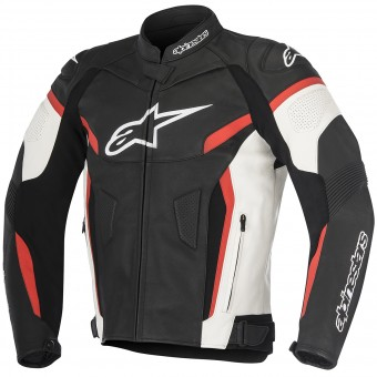 Blouson Moto Alpinestars GP Plus R V2 Black White Red