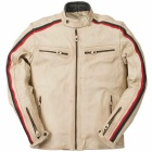 Blouson Moto Ride & Sons Heritage Vintage Cow Skin Sand