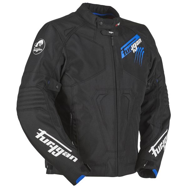 Blouson Moto Furygan Hurricane Black Blue