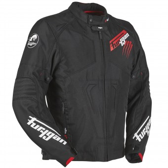Blouson Moto Furygan Hurricane Black Red