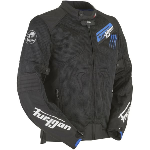 Blouson Moto Furygan Hurricane Vented Black Blue