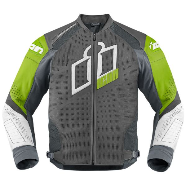 Blouson Moto ICON Hypersport Prime Green