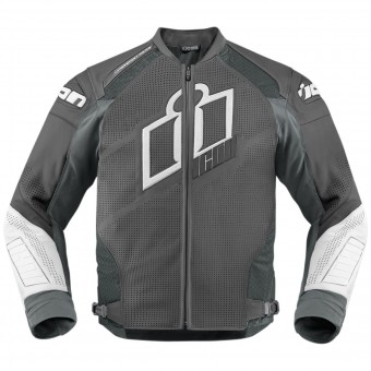 Blouson Moto ICON Hypersport Prime Grey