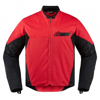 Blouson Moto ICON Konflict Red