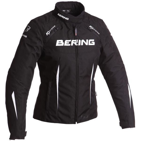 Blouson Moto Bering Lady Katniss Black White