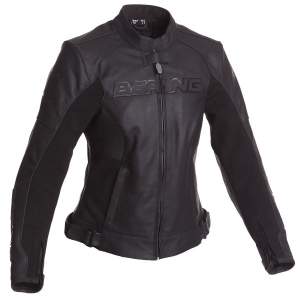 Blouson Moto Bering Lady Sawyer Black