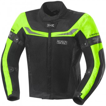 Blouson Moto IXS Levante Black Yellow
