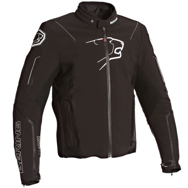 Blouson Moto Bering Luminous Black
