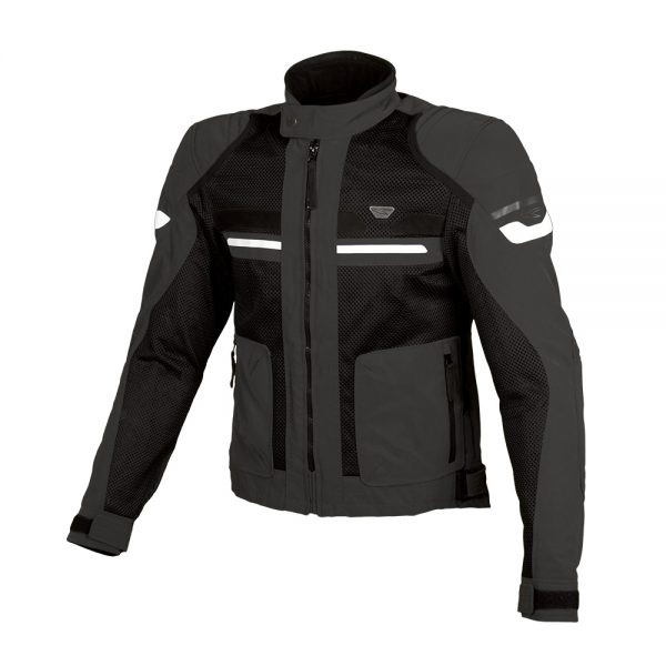 Blouson Moto Macna Rush Night Eye Black