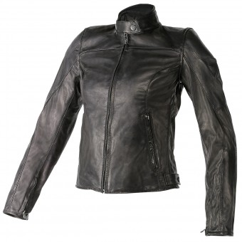 Blouson Moto Dainese Mike Lady Black