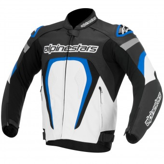 Blouson Moto Alpinestars Motegi Black White Blue