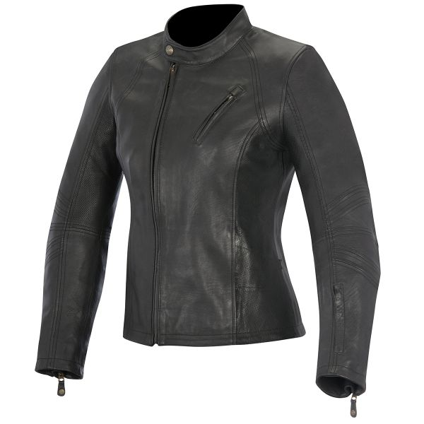 Blouson Moto Alpinestars Oscar Shelley Black