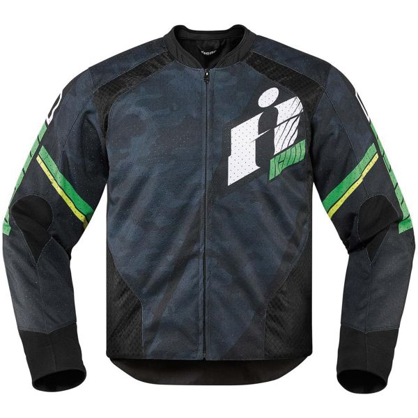 Blouson Moto ICON Overlord Primary Green