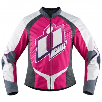 Blouson Moto ICON Overlord Sweet Dreams Pink