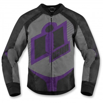Blouson Moto ICON Overlord Women Purple