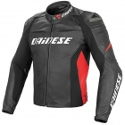Blouson Moto Dainese Racing D1 Black Red