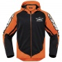 Blouson Moto ICON Raiden UX Orange