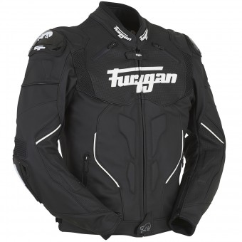 Blouson Moto Furygan Raptor Black White