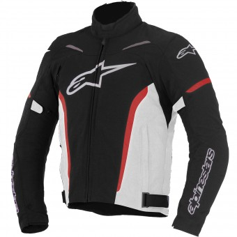 Blouson Moto Alpinestars Rox Black White Red