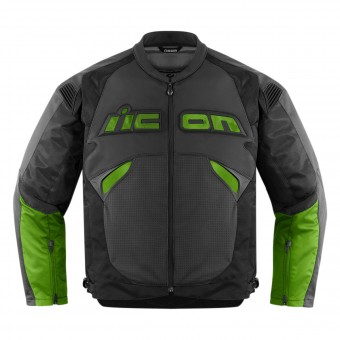Blouson Moto ICON Sanctuary Jacket Green