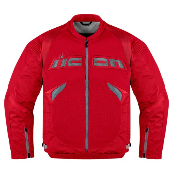 Blouson Moto ICON Sanctuary Jacket Red