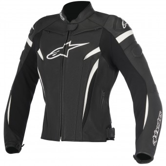 Blouson Moto Alpinestars Stella GP Plus R V2 Black White