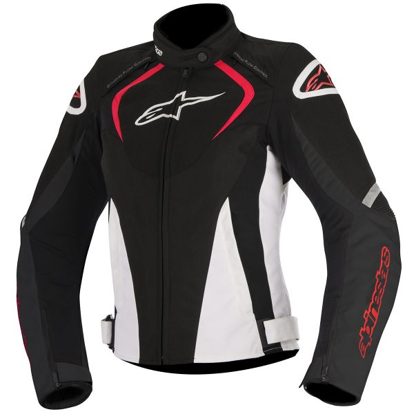 Blouson Moto Alpinestars Stella T-Jaws Waterproof Black Red