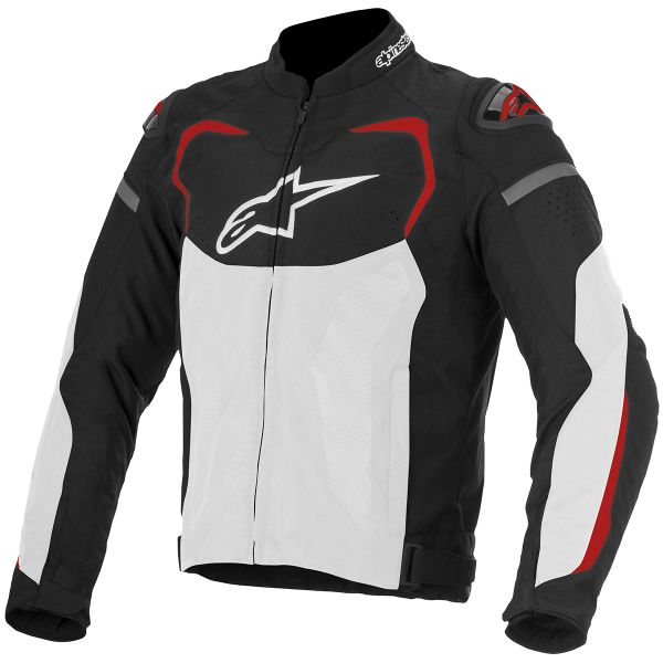 Blouson Moto Alpinestars T-GP PRO Air Black White Red