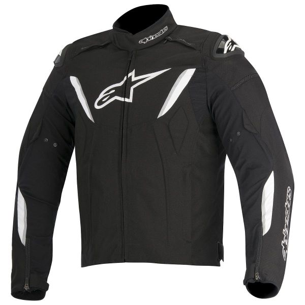 Blouson Moto Alpinestars T-GP R Waterproof Black White