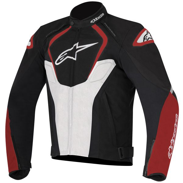 Blouson Moto Alpinestars T-Jaws Waterproof Black White Red