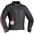 Blouson Moto Ixon Lotus Noir Rose