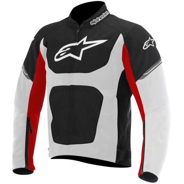 Blouson Moto Alpinestars Viper Air Black White Red