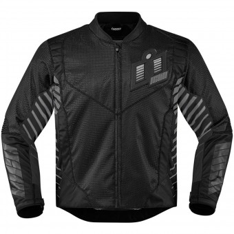 Blouson Moto ICON Wireform Black