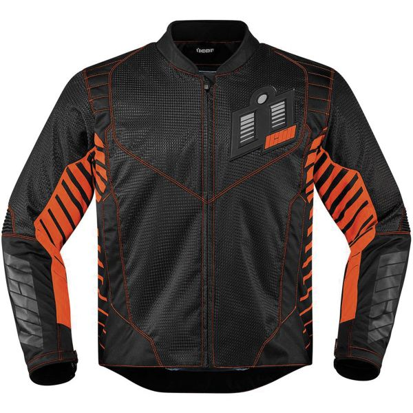 Blouson Moto ICON Wireform Orange