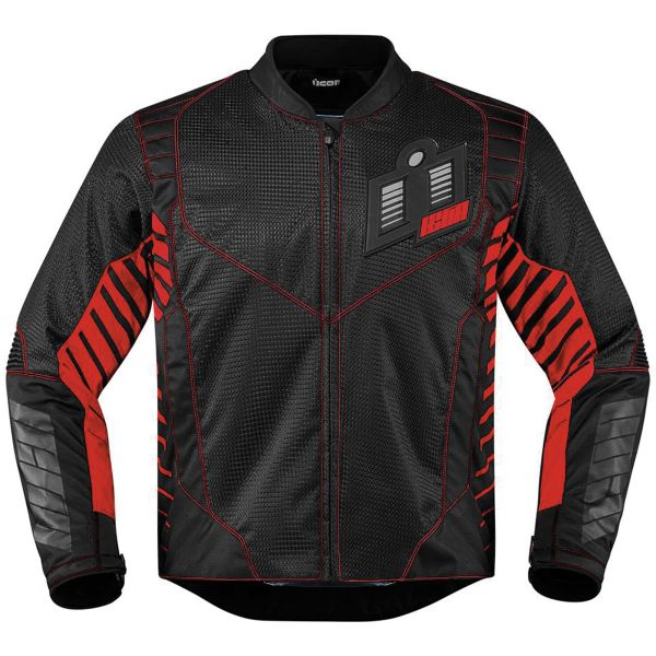 Blouson Moto ICON Wireform Red