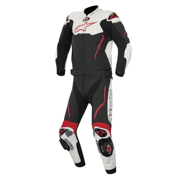 combinaison moto cuir alpinestars atem suit 2pc black. Black Bedroom Furniture Sets. Home Design Ideas