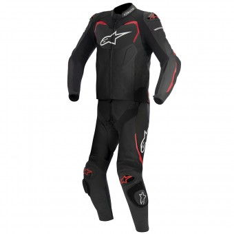 Combinaison Moto Cuir Alpinestars GP PRO 2PC Black Red
