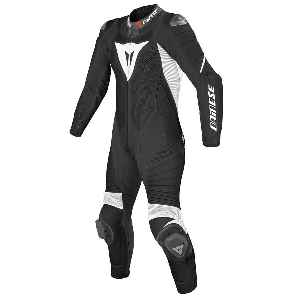 Combinaison Moto Cuir Dainese Laguna Seca Evo 1 PC. Perforated Black White
