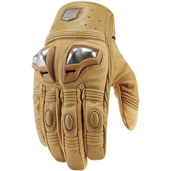 Gants Moto ICON 1000 Retrograde Glove Tan