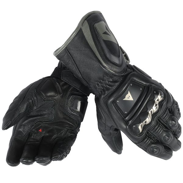 Gants Moto Dainese 4 Stroke Long Black