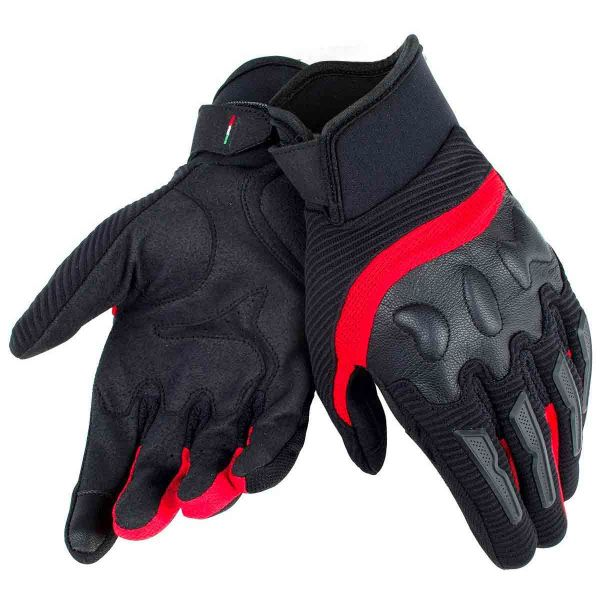 Gants Moto Dainese Air Frame Unisex Black Red