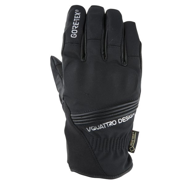 Gants Moto V'Quattro Downtown Gore-Tex Black