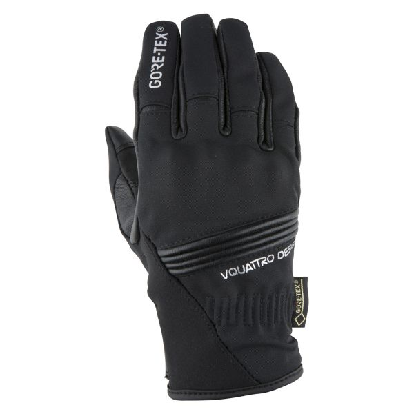 Gants Moto V'Quattro Downtown Lady Gore-Tex Black