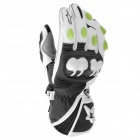 Gants Moto Alpinestars GP-M Monster Blanc