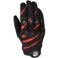 Gants Moto Furygan Jet Evo Noir Rouge